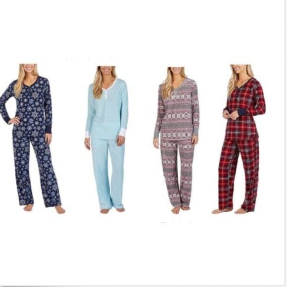 Nautica Intimates Amp Sleepwear Womens 2 Piece Fleece